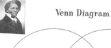 Compare/Contrast FREDERICK DOUGLASS + HARRIET TUBMAN has Venn Diagram