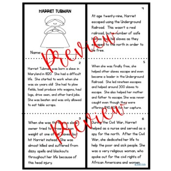BLACK HISTORY Harriet Tubman