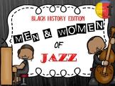 BLACK HISTORY: MEN & WOMEN OF JAZZ BULLETIN BOARD