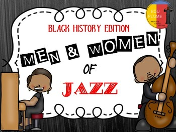 BLACK HISTORY: MEN & WOMEN OF JAZZ BULLETIN BOARD