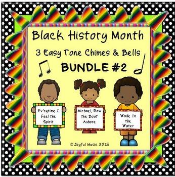 BLACK HISTORY MONTH 3 Easy Chimes & Bells Arrs BUNDLE #2