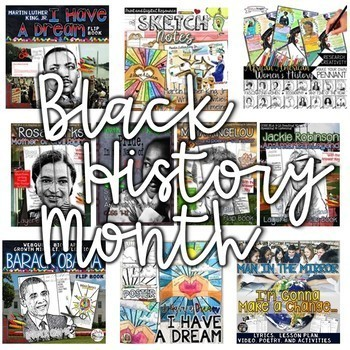 BLACK HISTORY MONTH ACTIVITIES FOR WRITING, RESEARCH, CREATIVITY, AND MORE!