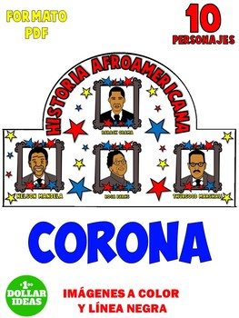 BLACK HISTORY MONTH ACTIVITIES   SPANISH   ESPAÑOL   CORONA