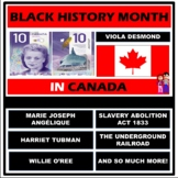 BLACK HISTORY MONTH - CANADA