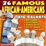 BLACK HISTORY MONTH Activities: Famous African-Americans—2