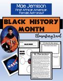 BLACK HISTORY MONTH- MAE JEMISON (NO PREP)