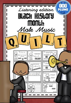 BLACK HISTORY MONTH MUSIC - LISTENING QUILT