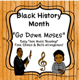 BLACK HISTORY MONTH SPIRITUAL Easy Tone Chimes & Bells Arr. GO DOWN, MOSES