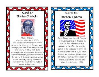 BLACK HISTORY MONTH:  Task Cards / Scavenger Hunt