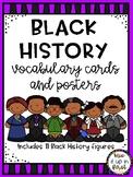 BLACK HISTORY VOCABULARY CARDS