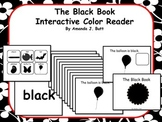 BLACK Interactive Color Sight Word Reader; Kindergarten; Special Education