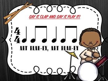 BLACK JAZZ MUSIC HISTORY - DRUMMING ACTIVITIES