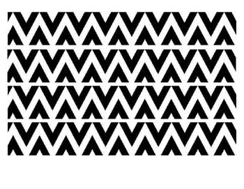 BLACK PATTERN BORDER