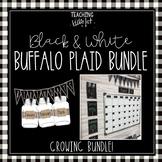 BLACK & WHITE BUFFALO PLAID GROWING BUNDLE