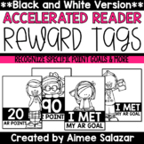 BLACK & WHITE Brag Tags {Accelerated Reader}