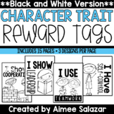 BLACK & WHITE Brag Tags {Character Traits}
