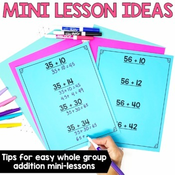 2-3 Digit Addition & Subtraction Strategies BUNDLE