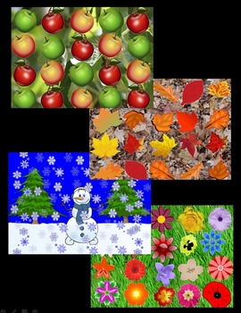 Seasonal Koosh Ball Games  (SMARTBoard)