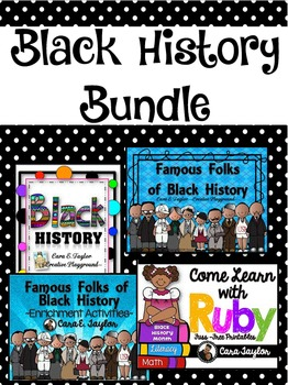 Black History Month Units and Activities Bundle