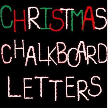 Christmas Letters/Alphabet