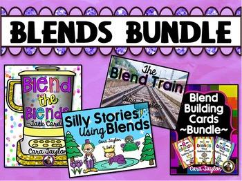 R, S, L Blends Phonics Bundle