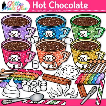 Winter Clip Art Bundle: Winter Graphics {Glitter Meets Glue}