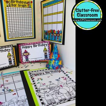 BIRTHDAY BUNDLE - Classroom Birthdays - STUDENT BIRTHDAYS