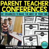 BLACKLINE DESIGN- PARENT TEACHER CONFERENCE PACKET {tips & printables}