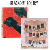 BLACKOUT POETRY! An Exciting Way to Teach Poetry and Create Meaning Using Words