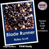 BLADE RUNNER Ridley Scott film Teacher Text Guides/Worksheets Updated 2019