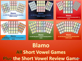BLAMO COMPLETE SET OF SHORT VOWEL GAMES (an uno like blending game)