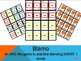 BLAMO COMPLETE SET OF SHORT VOWEL GAMES (an uno like blending game)