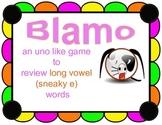 BLAMO LONG VOWEL REVIEW (Sneaky e)--- (an uno like blending game)
