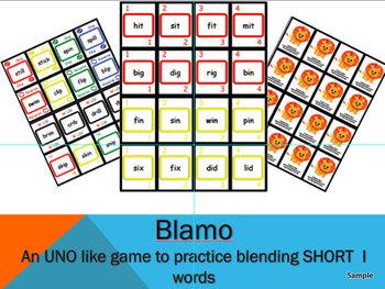 BLAMO SHORT I (an uno like blending game)