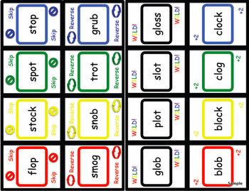 BLAMO SHORT O (an uno like blending game)