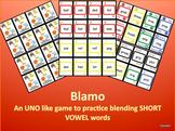 BLAMO SHORT VOWELS (an uno like blending game)