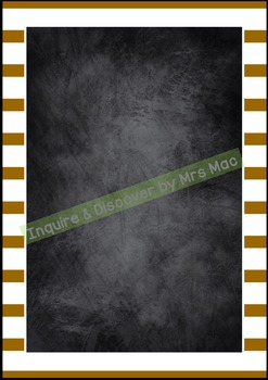 Back To School BLANK CHALKBOARDS - Classroom Decor - Posters