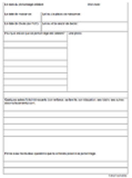 FAMOUS PERSON BIOGRAPHY RESEARCH TEMPLATE Graphic Organize
