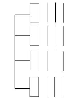 BLANK Tree Map (FREE)