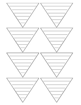 BLANK triangles for order of operations work