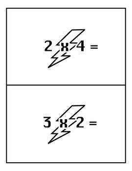 BLAST! - Multiplication Card Game