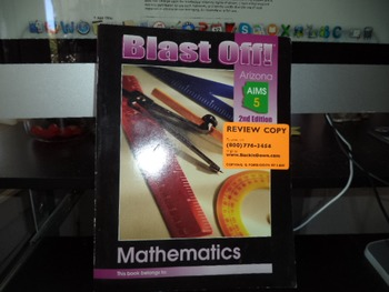 BLAST OFF MATHEMATICS  ISBN 0 7836 3300 9