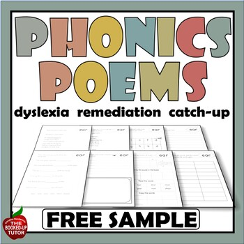 Phonics Poetry BLEND POEMS fr and cl 4 FREE POEMS