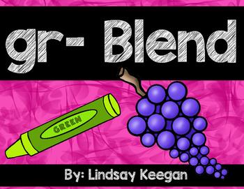 Blends: GR Blend Activities