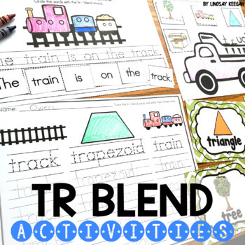 Blends: TR Blend Activities