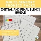 Initial & Final Blends: Bundle   Orton-Gillingham Activities   Virtual Learning
