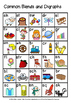 BLENDS AND DIGRAPH CHART