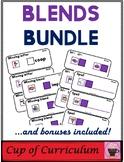 BLENDS Task Cards BUNDLE
