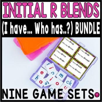 SLP R BLENDS Words Activities Bundle