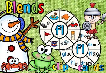 BLENDS CLIP CARDS